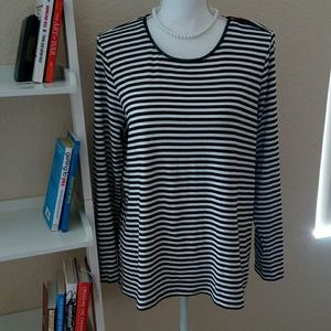 Charter Club Striped Top